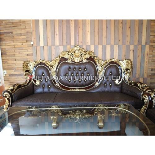 Jual Set Sofa Tamu Klasik Ukir Calista Terpercaya