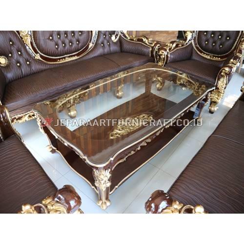 Beli Set Sofa Tamu Klasik Ukir Calista Terpercaya