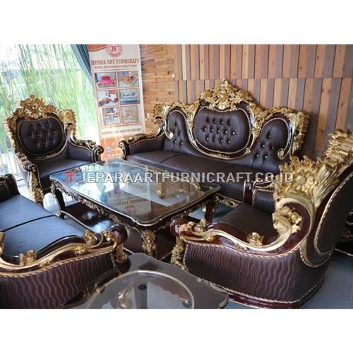 Promo Set Sofa Tamu Klasik Ukir Calista Berkualitas