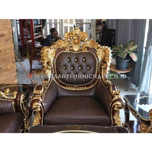 Jual Set Sofa Tamu Klasik Ukir Calista Berkualitas