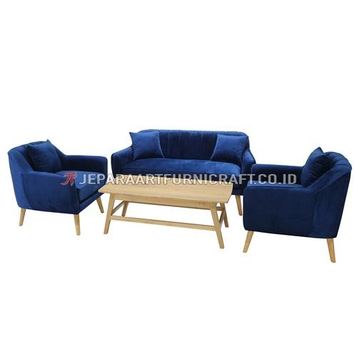 Promo Set Sofa Tamu Minimalis Modern Marry Terbaru