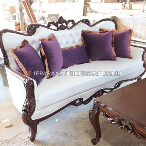 Promo Set Sofa Tamu Ukir Klasik Parretti Termurah