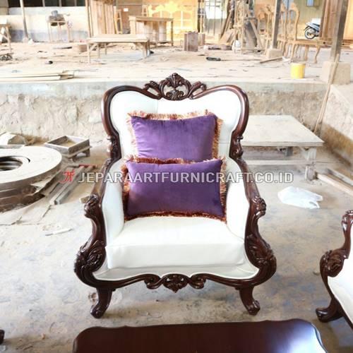 Beli Set Sofa Tamu Ukir Klasik Parretti Terpercaya