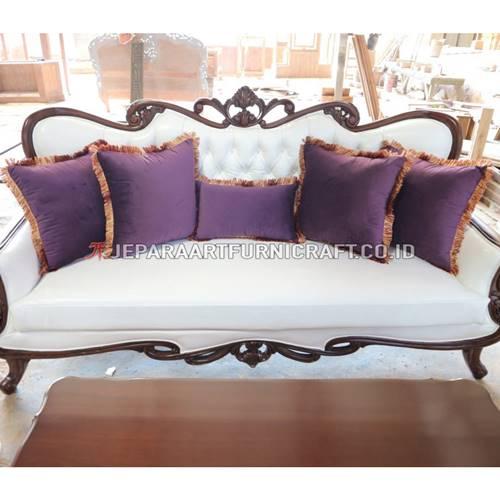 Beli Set Sofa Tamu Ukir Klasik Parretti Berkualitas