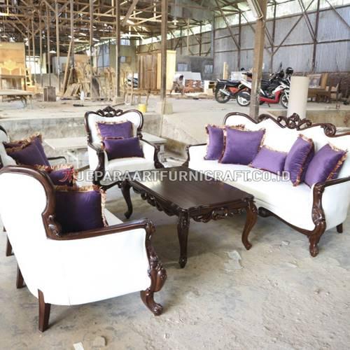 Jual Set Sofa Tamu Ukir Klasik Parretti Berkualitas