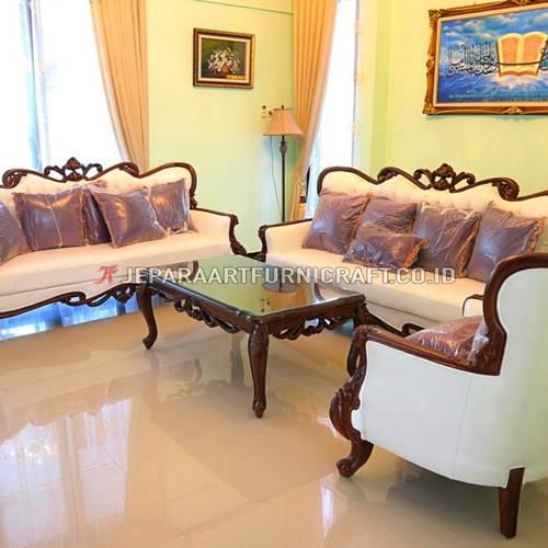 Jual Set Sofa Tamu Ukir Klasik Parretti Termurah