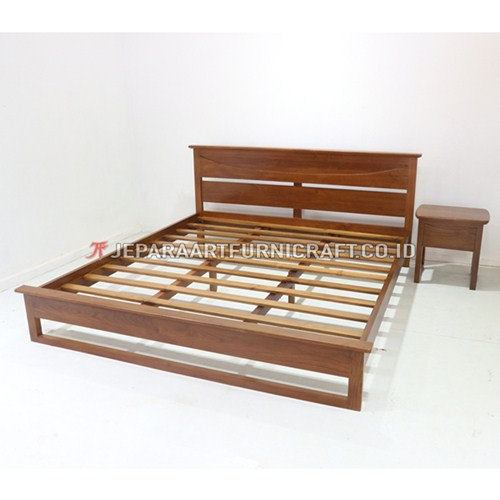 Beli Tempat Tidur Jati Minimalis Richard Berkualitas