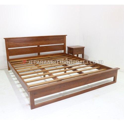 Beli Tempat Tidur Jati Minimalis Richard Termurah
