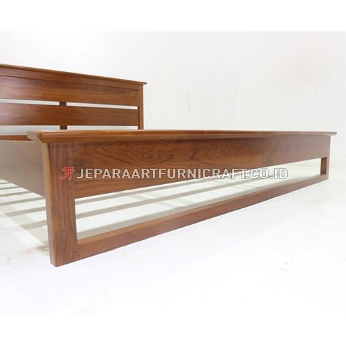 Jual Tempat Tidur Jati Minimalis Richard Termurah