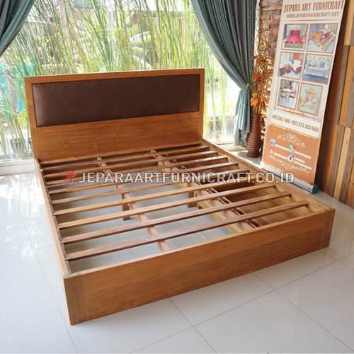 Promo Tempat Tidur Jati Minimalis Sugi Berkualitas