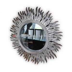 Promo Pigura Cermin Klasik Silver Matahari Terbaru