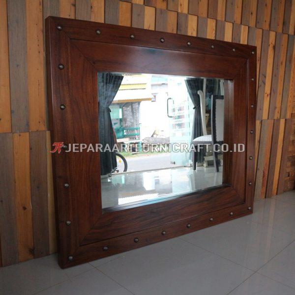 Promo Pigura Cermin Minimalis Solid Trembesi Berkualitas