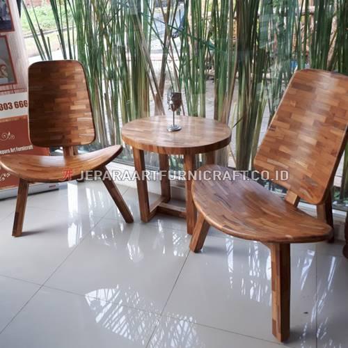 Exclusive Set Kursi Teras Minimalis Laminasi Shell Terbaru