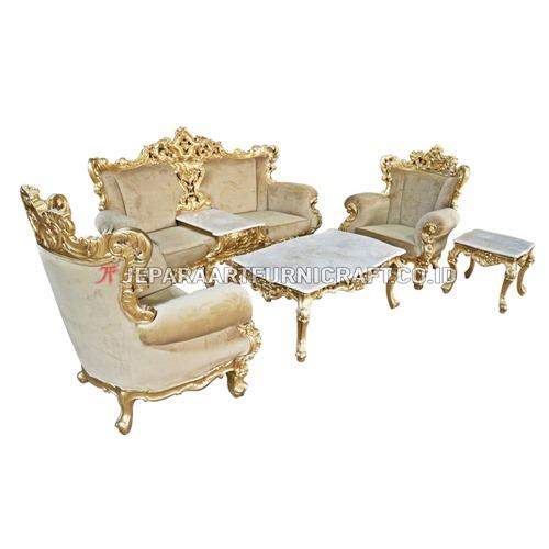 Promo Set Sofa Tamu Mewah Ukir Klasik Eolo Berkualitas