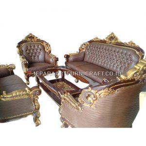 Promo Set Sofa Tamu Mewah Ukir Mercurio Berkualitas