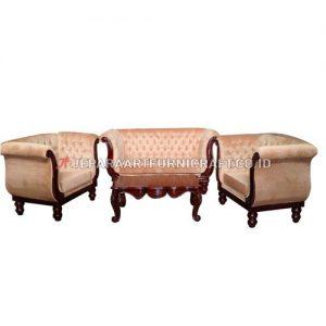 Exclusive Set Sofa Tamu Mewah Ukir Swan Berkualitas