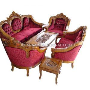 Jual Set Sofa Tamu Ukir Mewah Ganesha Berkualitas