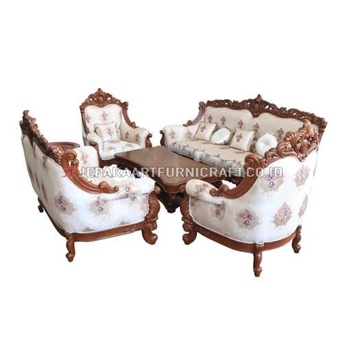 Jual Set Sofa Tamu Ukir Mewah Ida Berkualitas