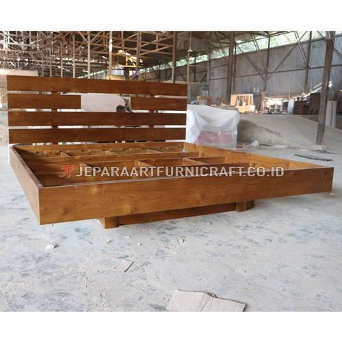 Cari Tempat Tidur Minimalis Kayu Jati Jepara Harga Murah