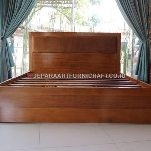 Promo Tempat Tidur Minimalis Jati Laci Jepara Terbaru