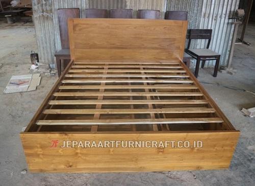 Jual Tempat Tidur Pesanan Bapak Bachsin di Palembang